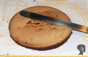 Biskuit teilen
