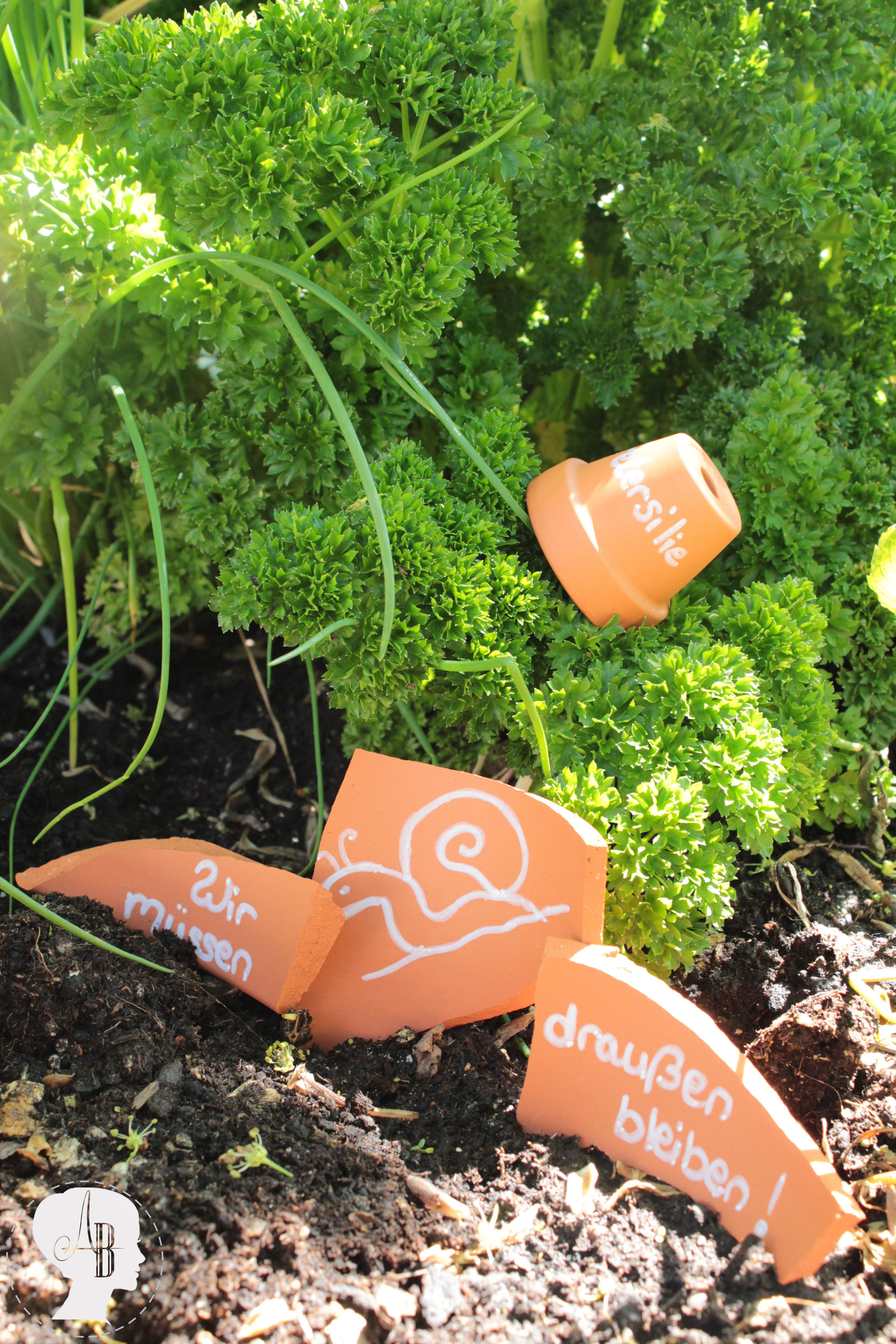 DIY: Kreativer Garten mit Tontöpfen