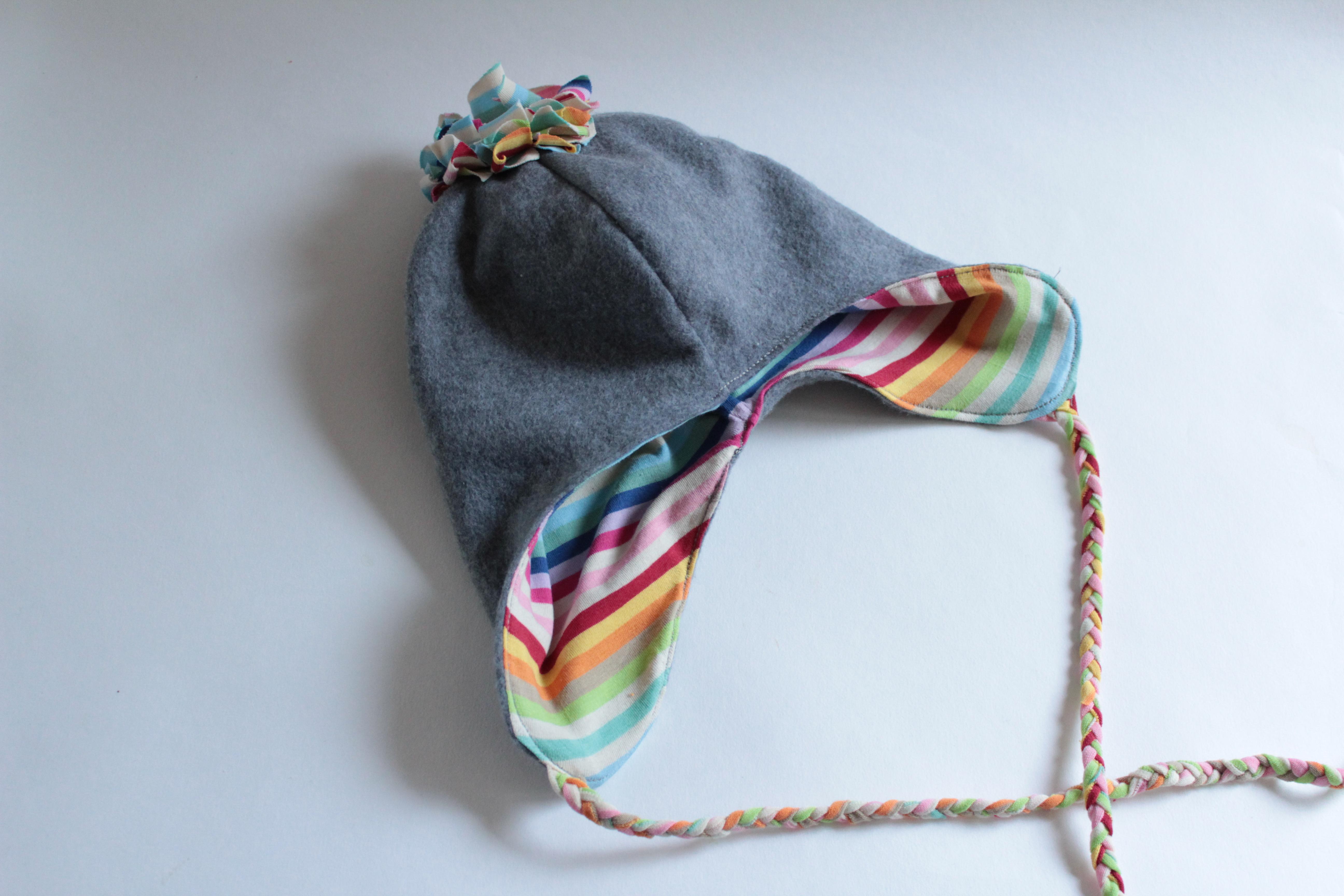 DIY: Wintermütze für Kinder nähen - arianebrand
