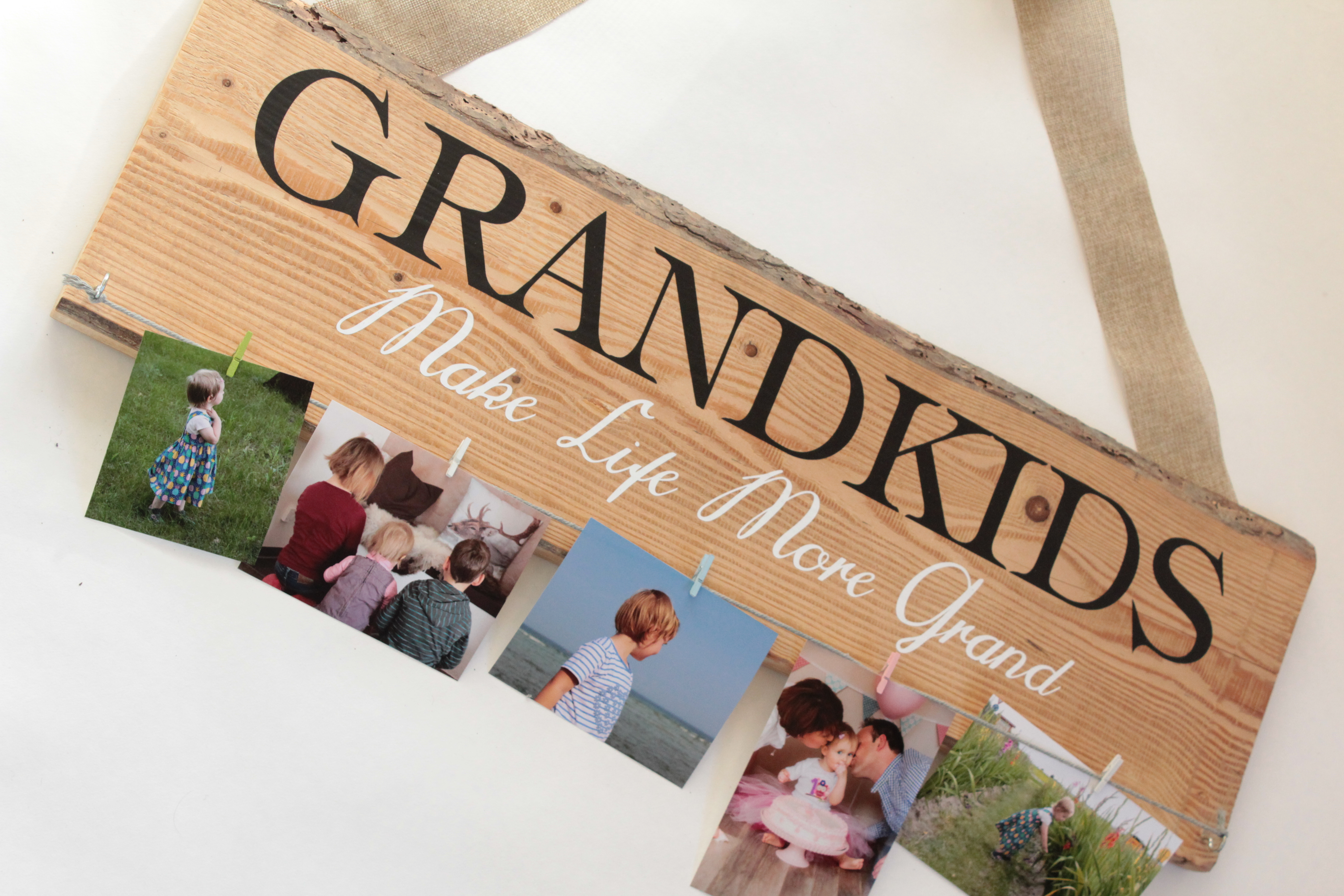 DIY: Weihnachtsgeschenk für die Großeltern - arianebrand