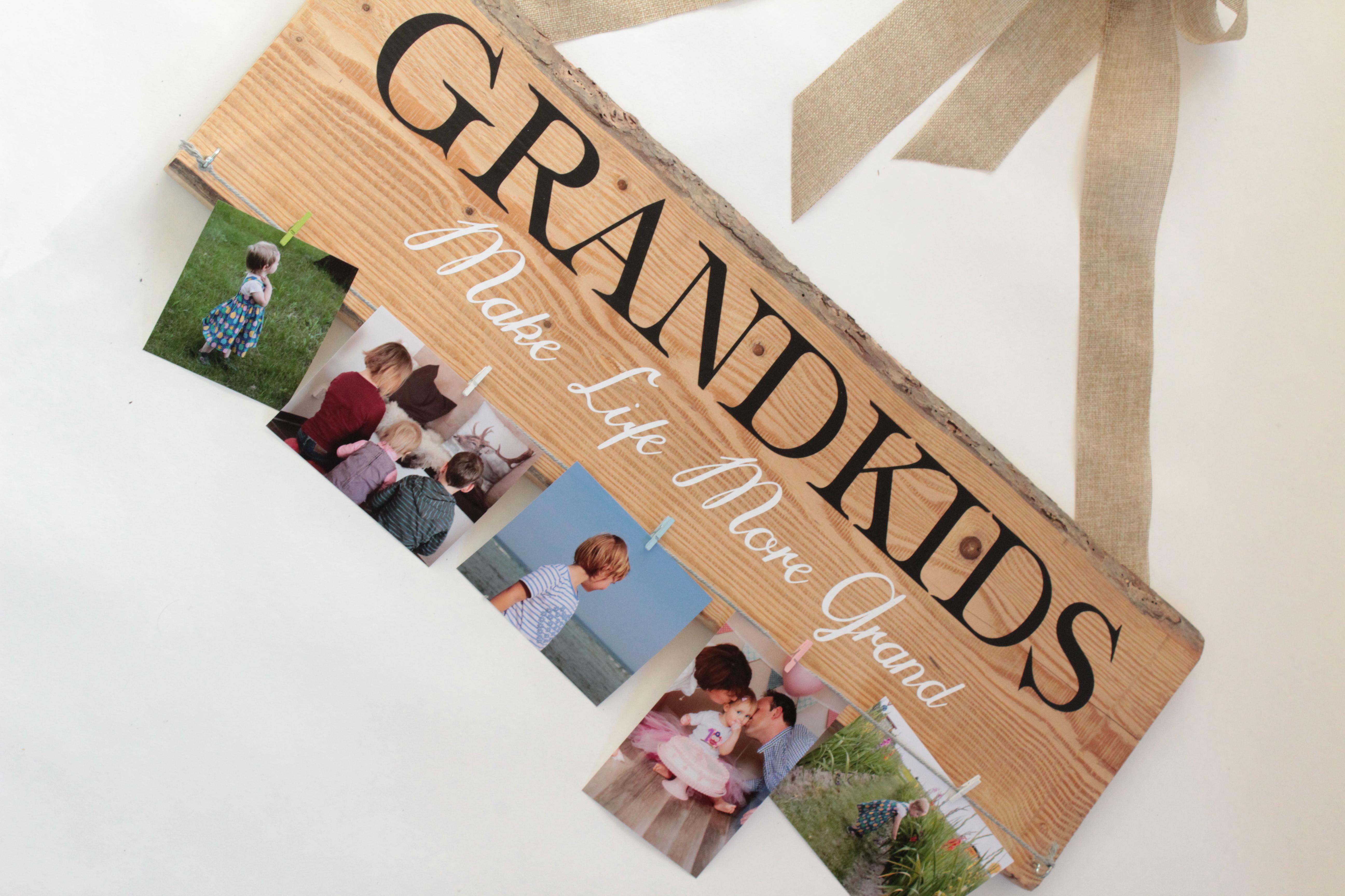 Weihnachtsgeschenk Großeltern