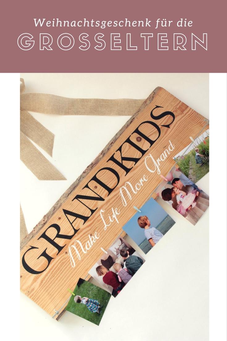 weihnachtsgeschenk für die großeltern