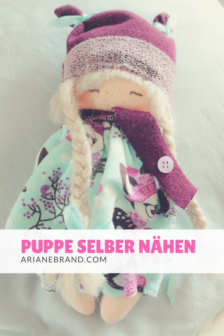 DIY: Eine kleine Puppe selber nähen - arianebrand