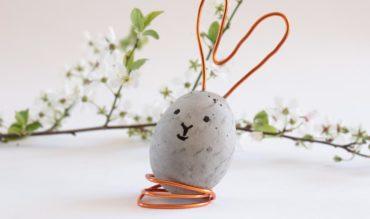 DIY: Betoneier für Ostern selber machen