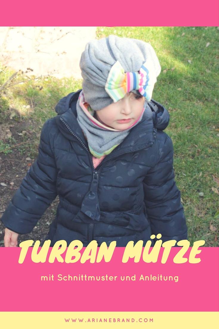 DIY: Turbanmütze für Kinder nähen - arianebrand