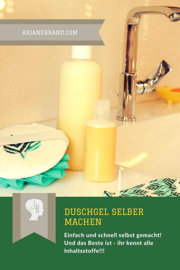 Duschgel selber machen