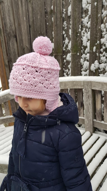 Diy Kinder Häkelmütze Für Den Winter Arianebrand